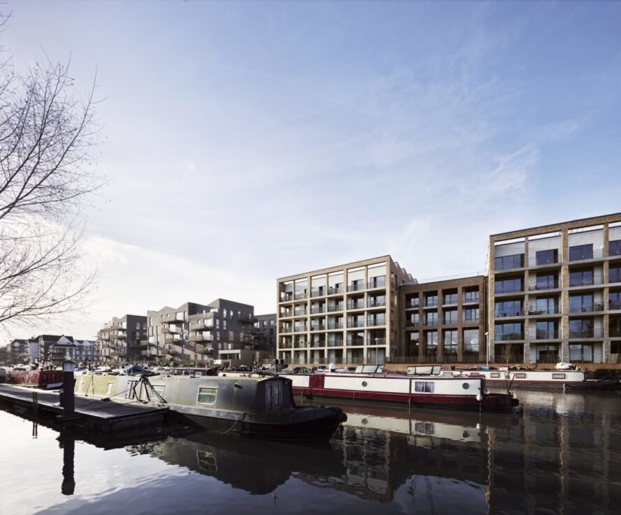 Community-oriented housing redefines a former industrial site in west