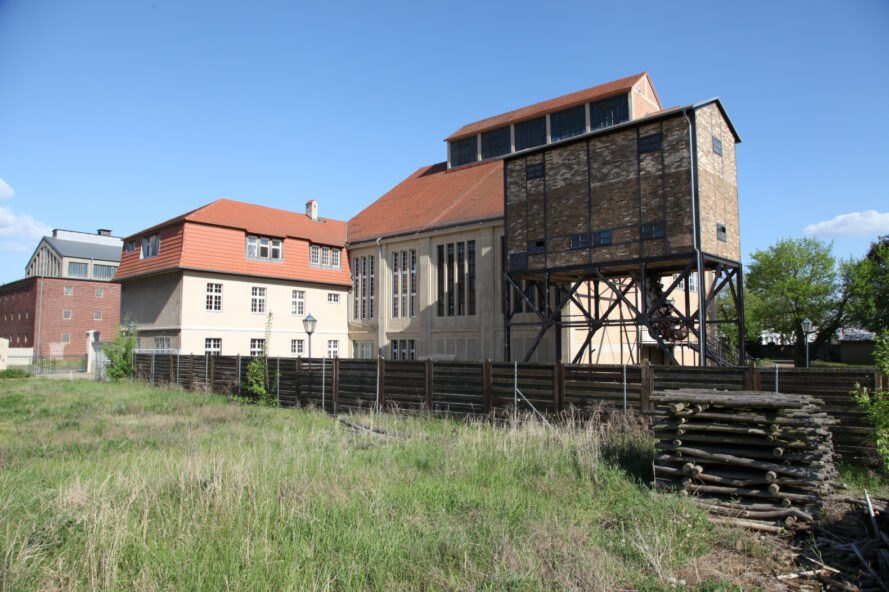 exterior of old power station