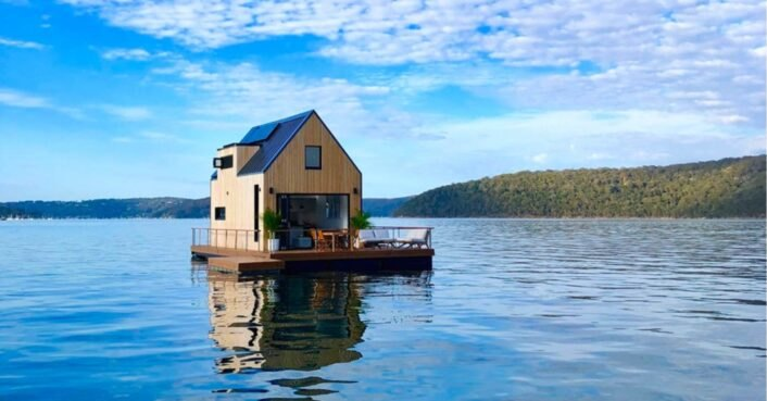 Sail your cares away in this incredible floating villa near Sydney