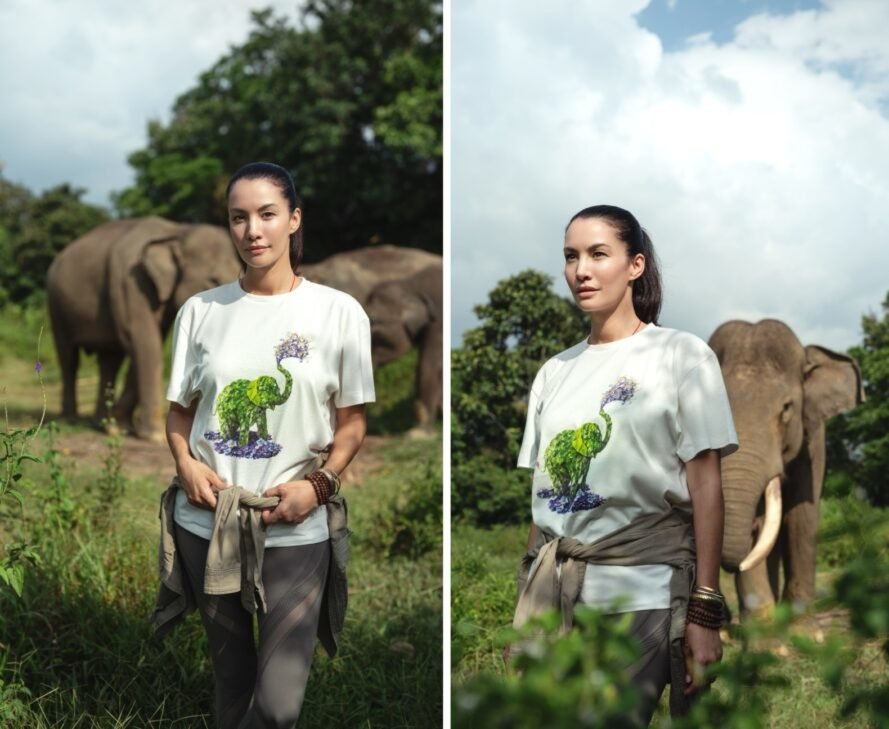 Collection of plant-based shirts raise awareness of endangered species