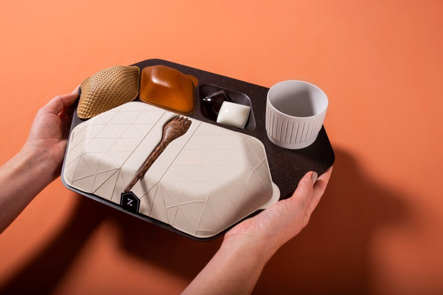 Designers aim to reduce the waste and impact of airlines