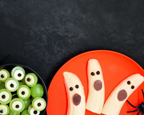 fruits shaped like monsters and ghosts