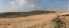 Scout Moor Wind Farm Panorama