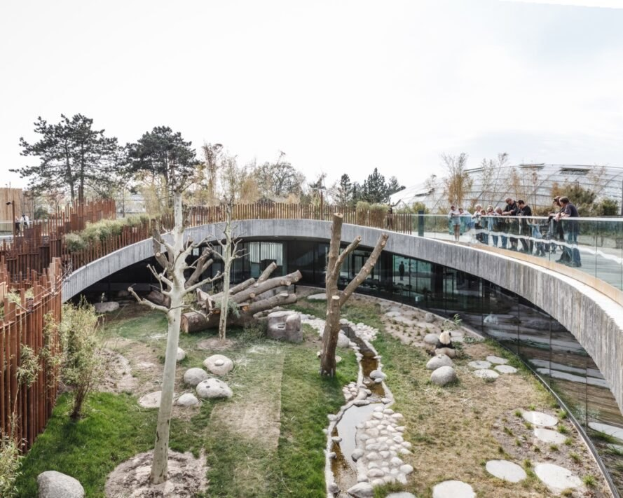 Look inside BIGs yin and yang-shaped Panda House in Copenhagen