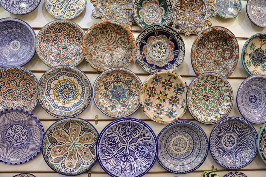 handmade pottery dishes