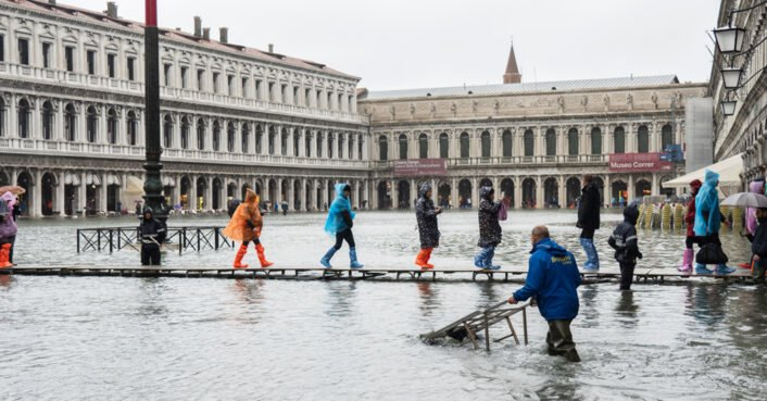 Venice's worst flood in 50 years blamed on climate change