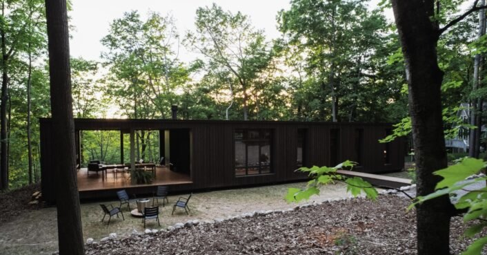 Stunning new prefab kit home centers on sustainability