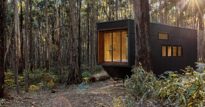 Off-grid tiny cabin in Australia is just the place for a digital detox in the new year