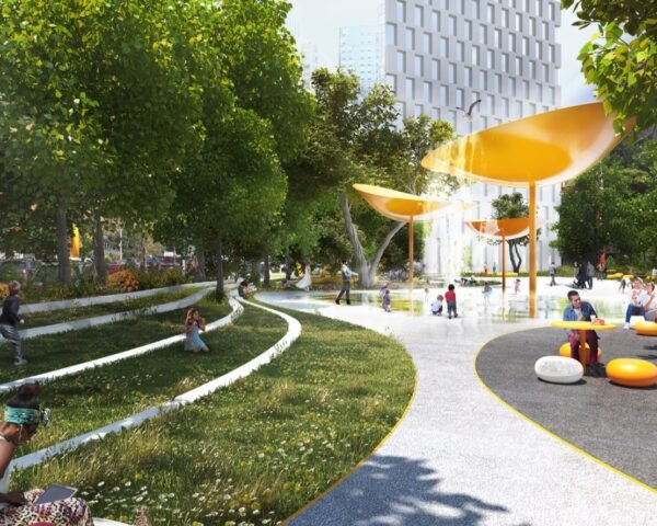 Downtown Brooklyn Public Realm Vision, BIG and WXY Studio 12