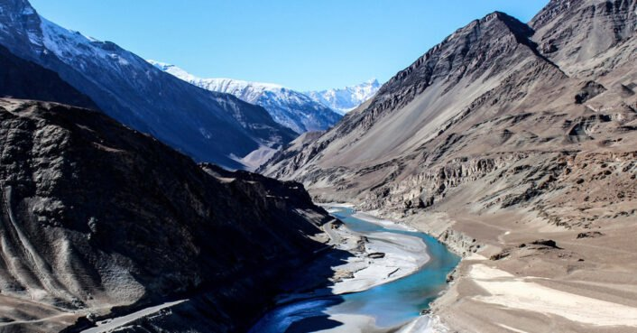 Climate change-induced melting of mountain ice threatens global supply of freshwater