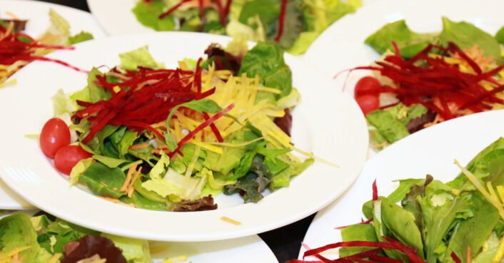 Study shows how plant-based catering can greatly reduce events' carbon footprints