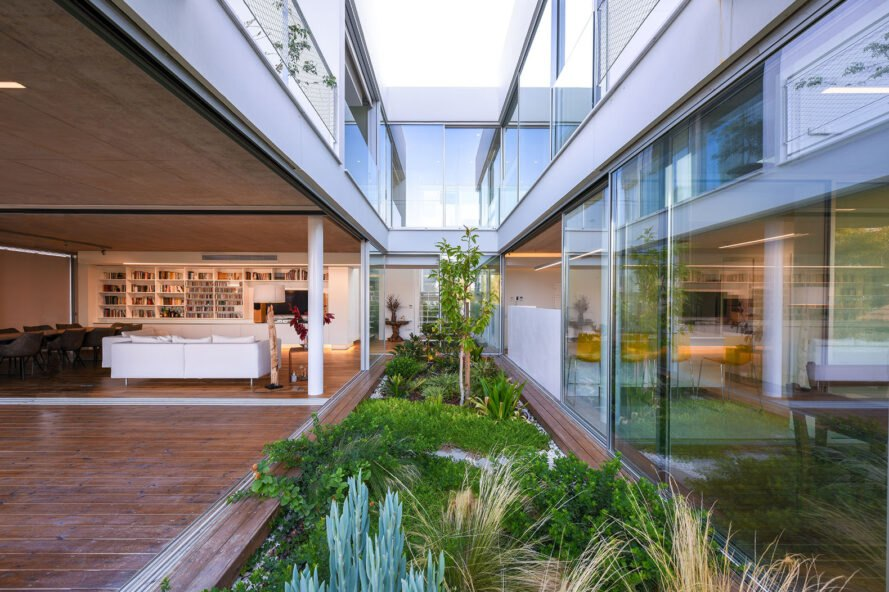 The Garden House features greenery and bee-friendly landscapes