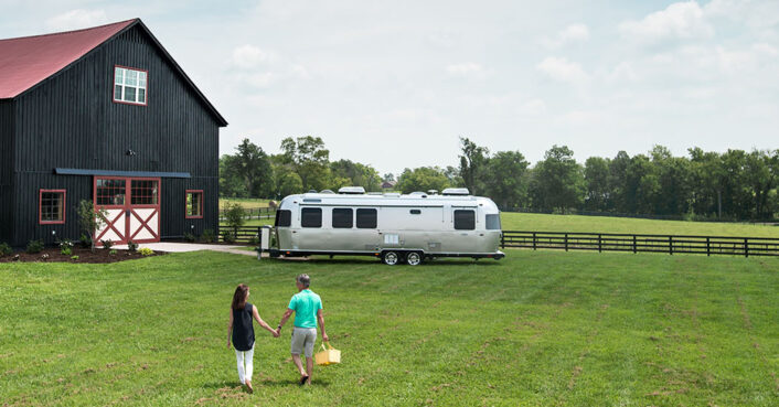 Airstream unveils new 2020 camper with smart technology