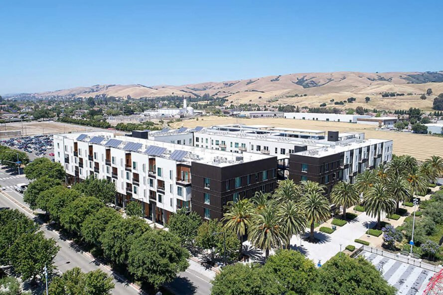 The Union Flats is a LEED Platinum-certified housing community