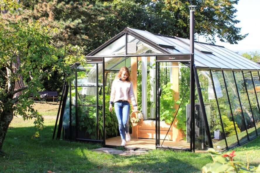 myfood's smart greenhouses can grow nearly 900 pounds of produce a year