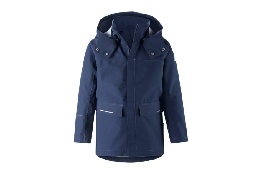 blue recyclable jacket for kids