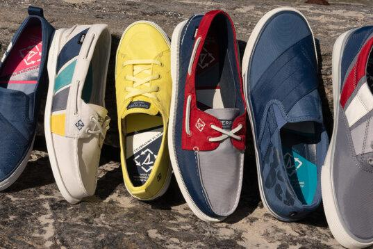 Sperry introduces shoes made with ocean