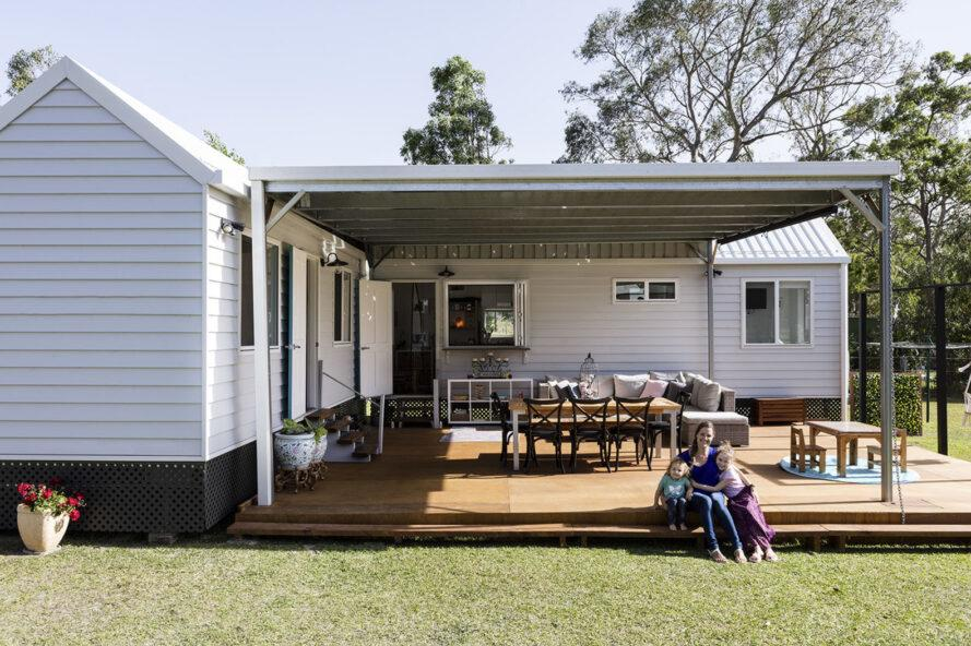 Tiny living helps this family cut costs and find balance