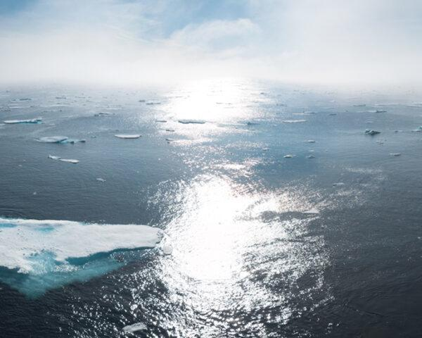 ice melting in Greenland