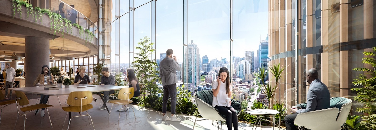 Office towers to boast first AI-driven facade powered by renewable energy