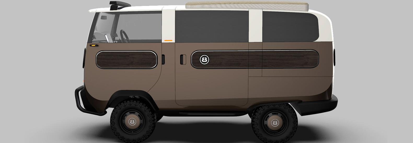Meet eBussy, the new modular, electric truck-to-van