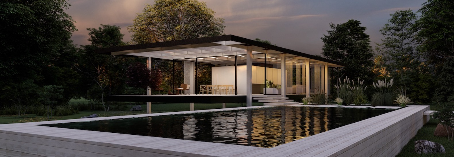 Iconic Farnsworth House gets a conceptual, sustainable redesign
