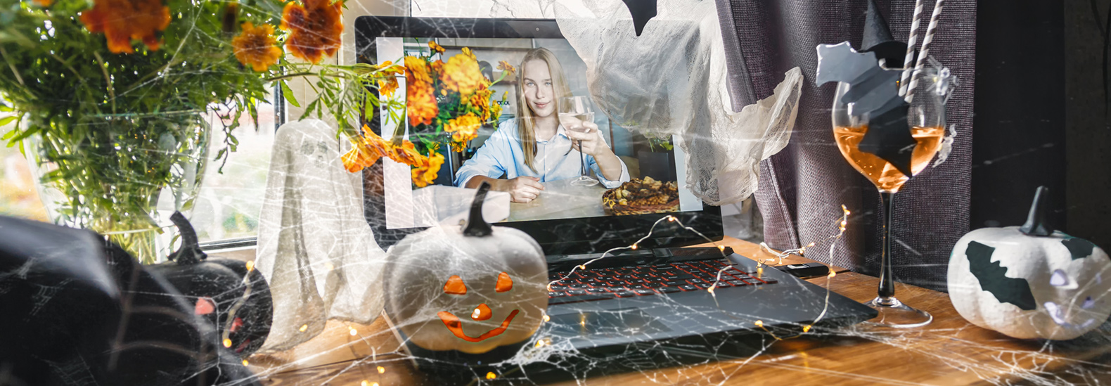 DIY Halloween costumes for this year's virtual parties