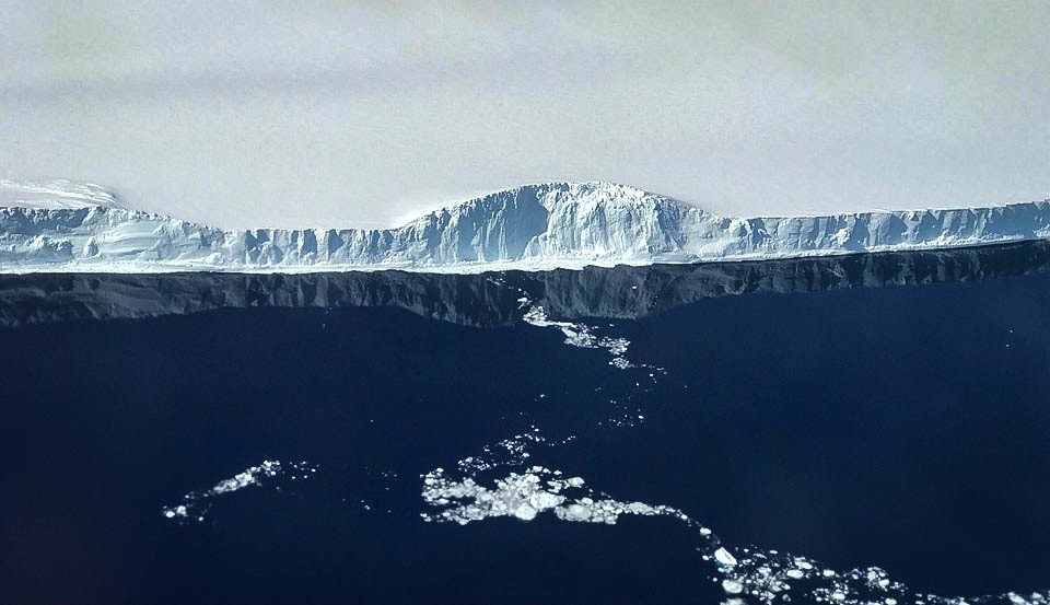 Danger looms as world's largest iceberg heads toward a critical wildlife habitat