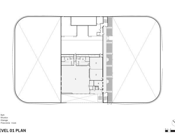 ice rink floor plan upper floor