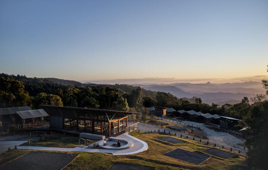 Green design meets glamping in Queenslands Lamington National Park