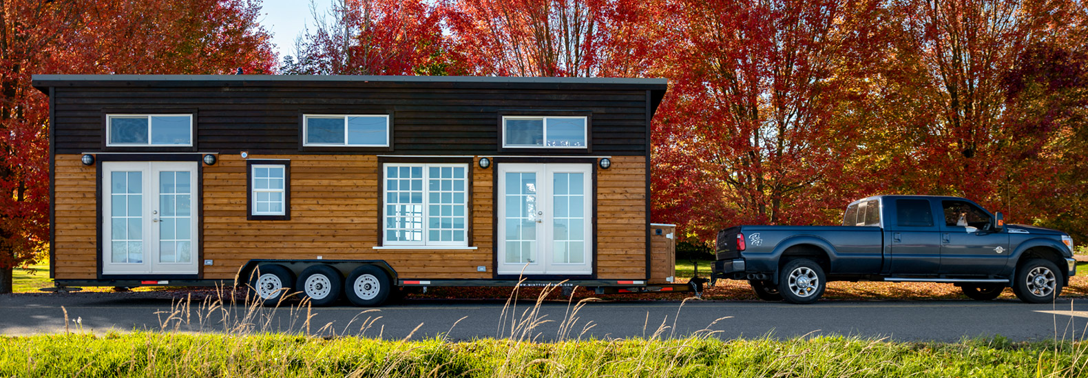 Mint Tiny Homes' Loft Edition model is full of natural light
