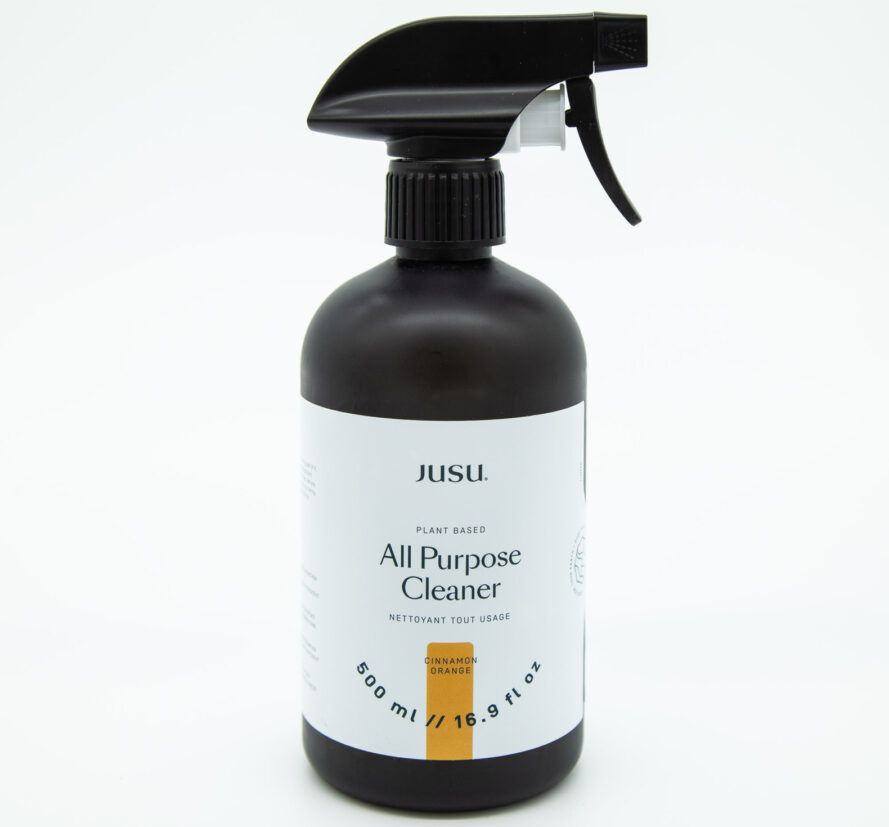 spray bottle of all-purpose, natural cleaner