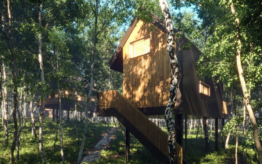 These brilliant treehouses show what it means to be eco-kind