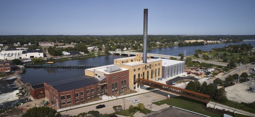 Studio Gang transforms coal plant into LEED Silver-targeted student union