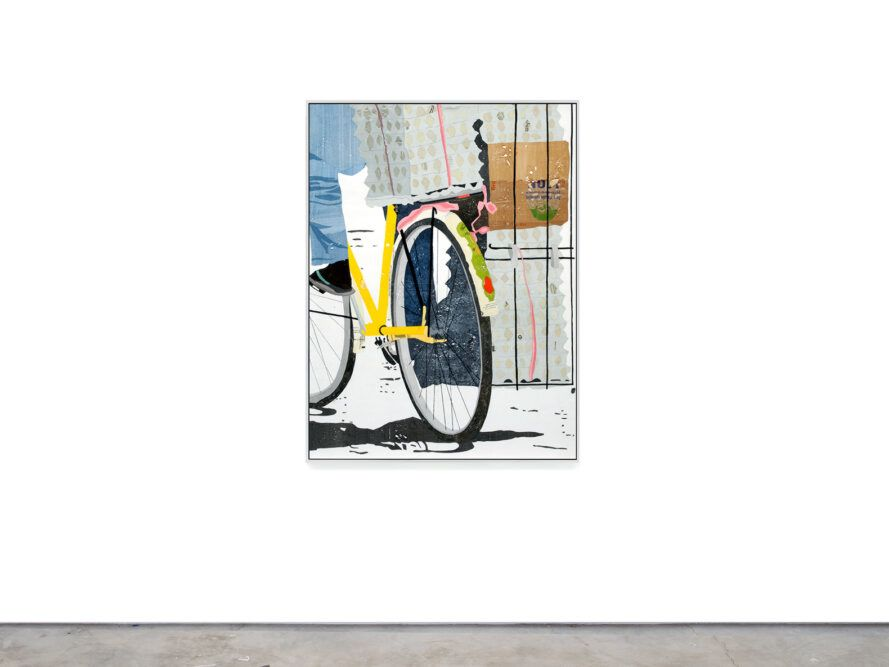depicting art of a bicycle