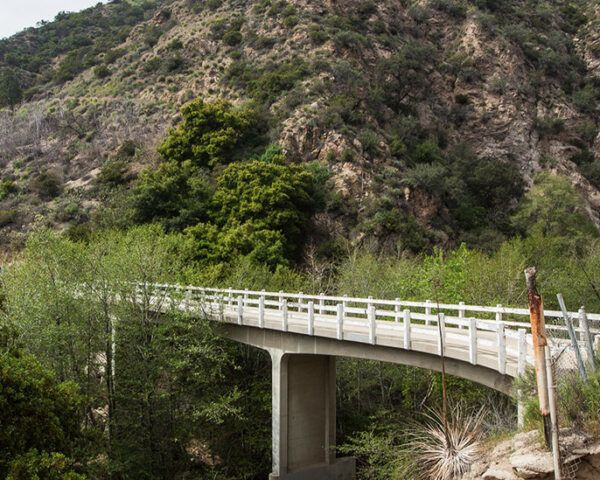 pathway in Eaton Canyon in Los Angeles