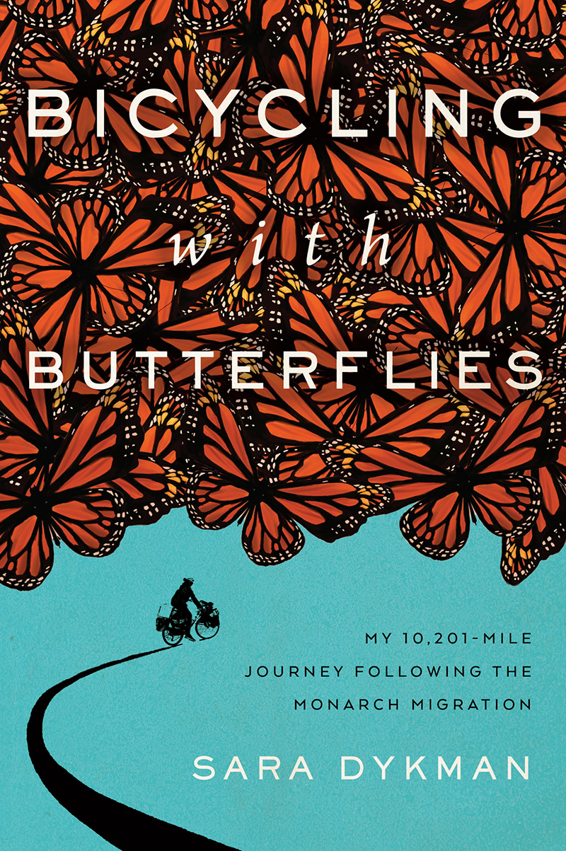 Bicycling with Butterflies book cover