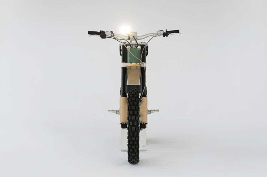 light on front of electric bike