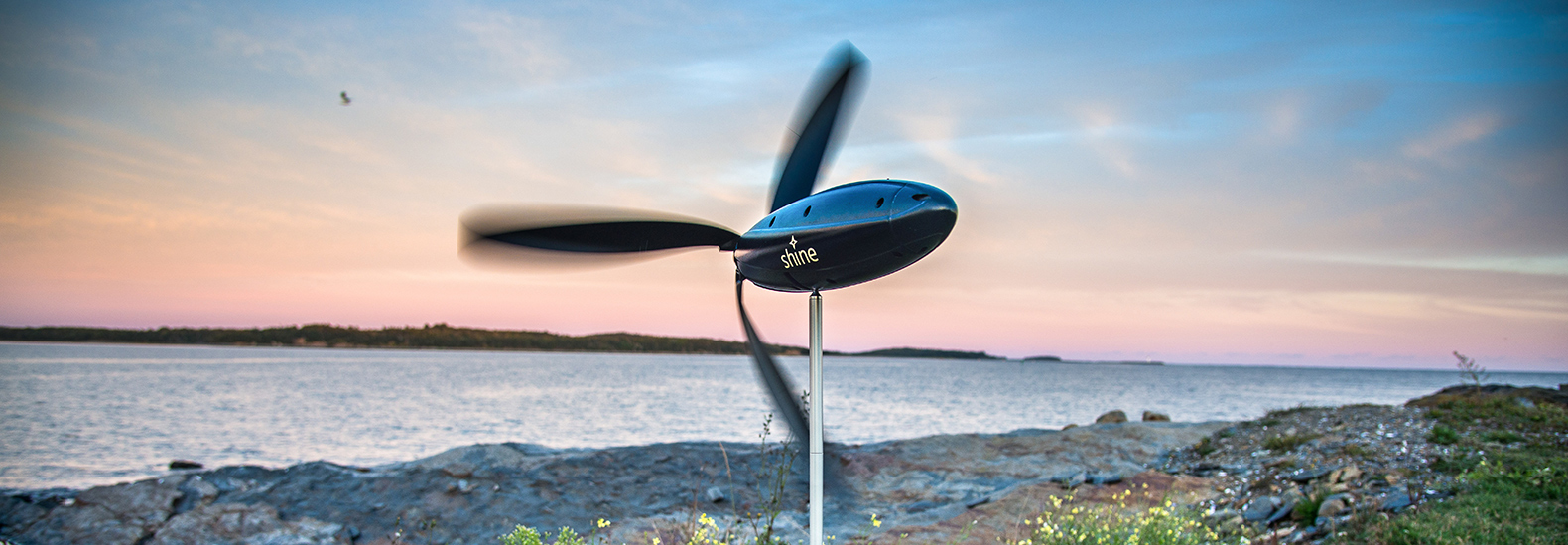 Shine Turbine is a wind-powered portable device charger | Tech News