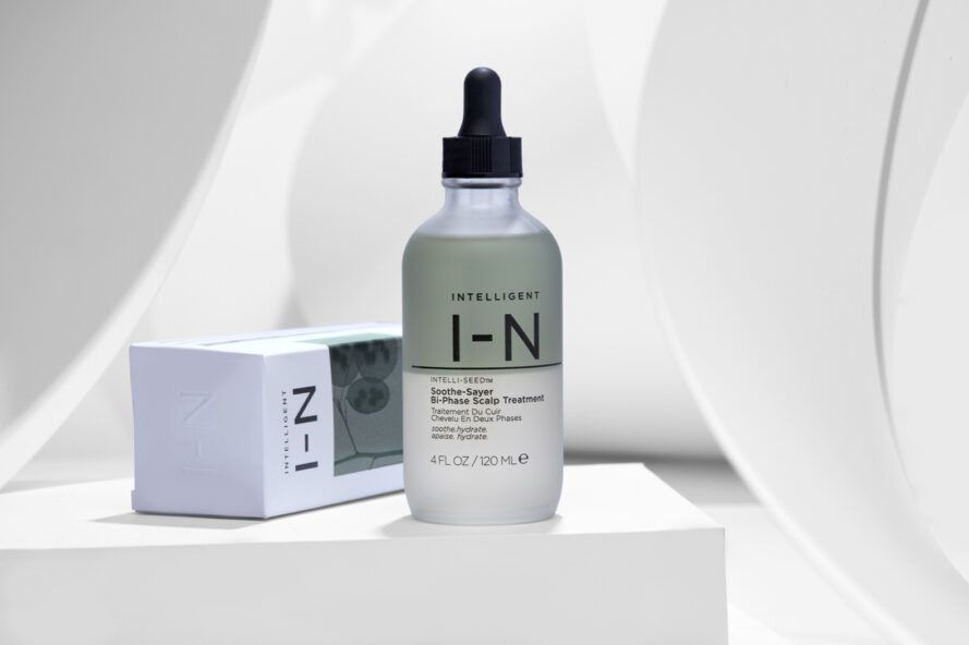 Natural Serum in Glass Bottle