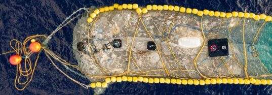 Cleanup device removes 20,000 pounds of ocean plastic