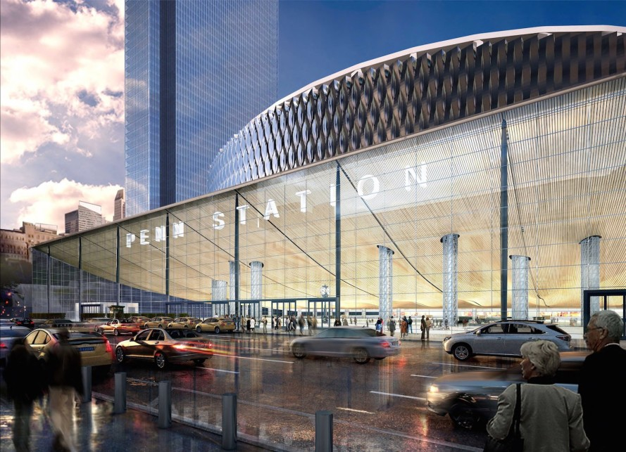 Governor Cuomo unveils ambitious vision to overhaul Penn Station