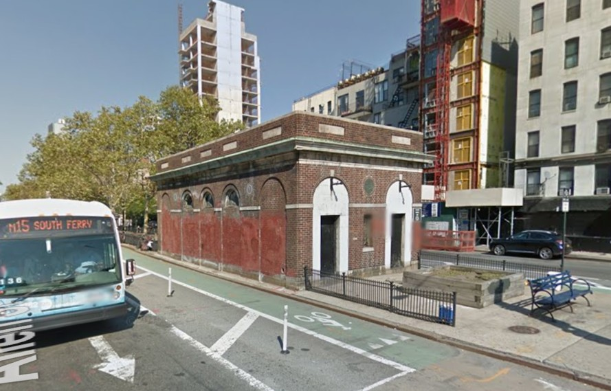 Abandoned Allen Street Bathhouse could be transformed into a food stall in LES