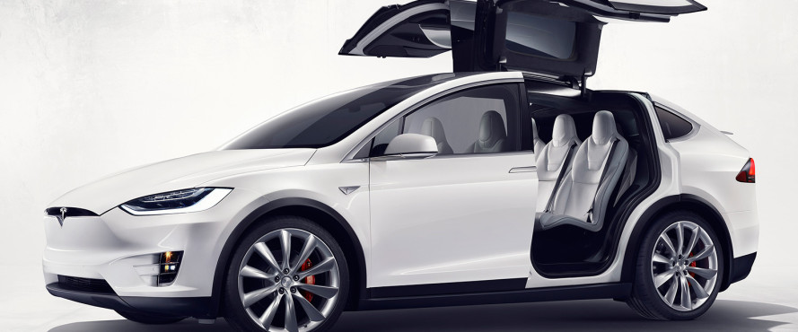 It's technically illegal to drive a Tesla Model X across the Brooklyn Bridge