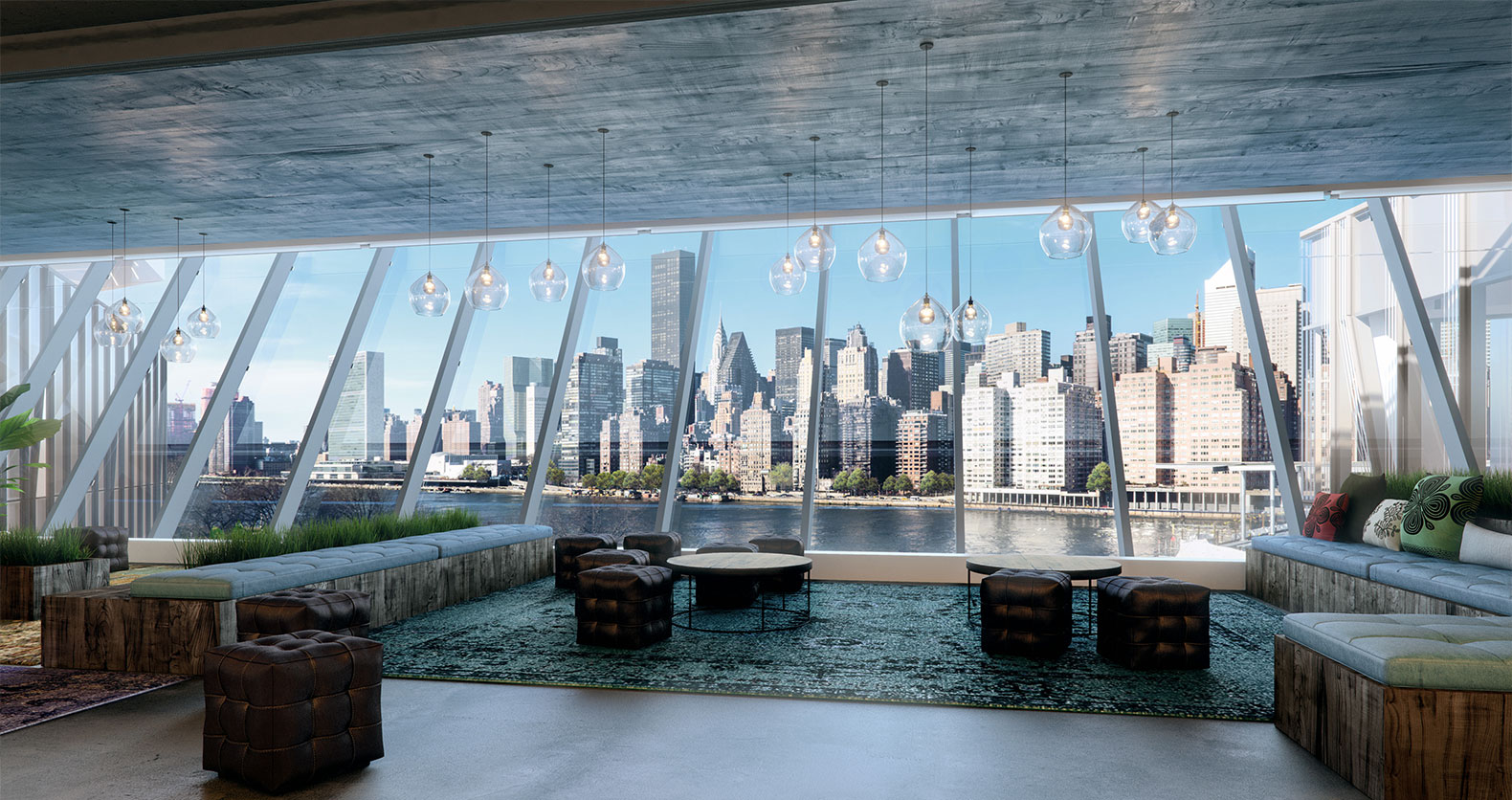 The Bridge at Cornell Tech: Forest City releases new images of crystalline incubator building on Roosevelt Island