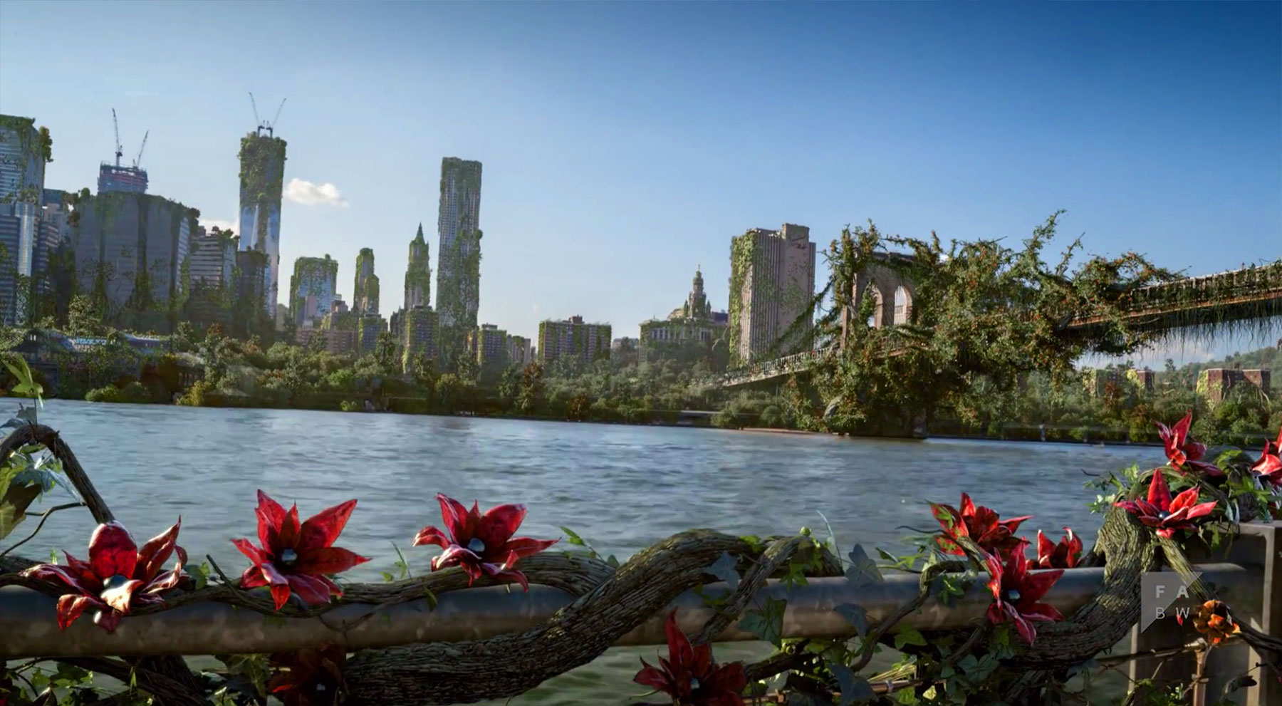Watch New York City get devoured by a swarm of plants in this breathtaking short film