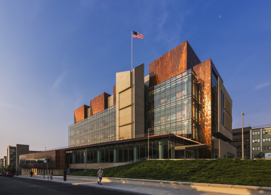 Copper-clad Staten Island courthouse turns towers of justice into a beacon of sustainability