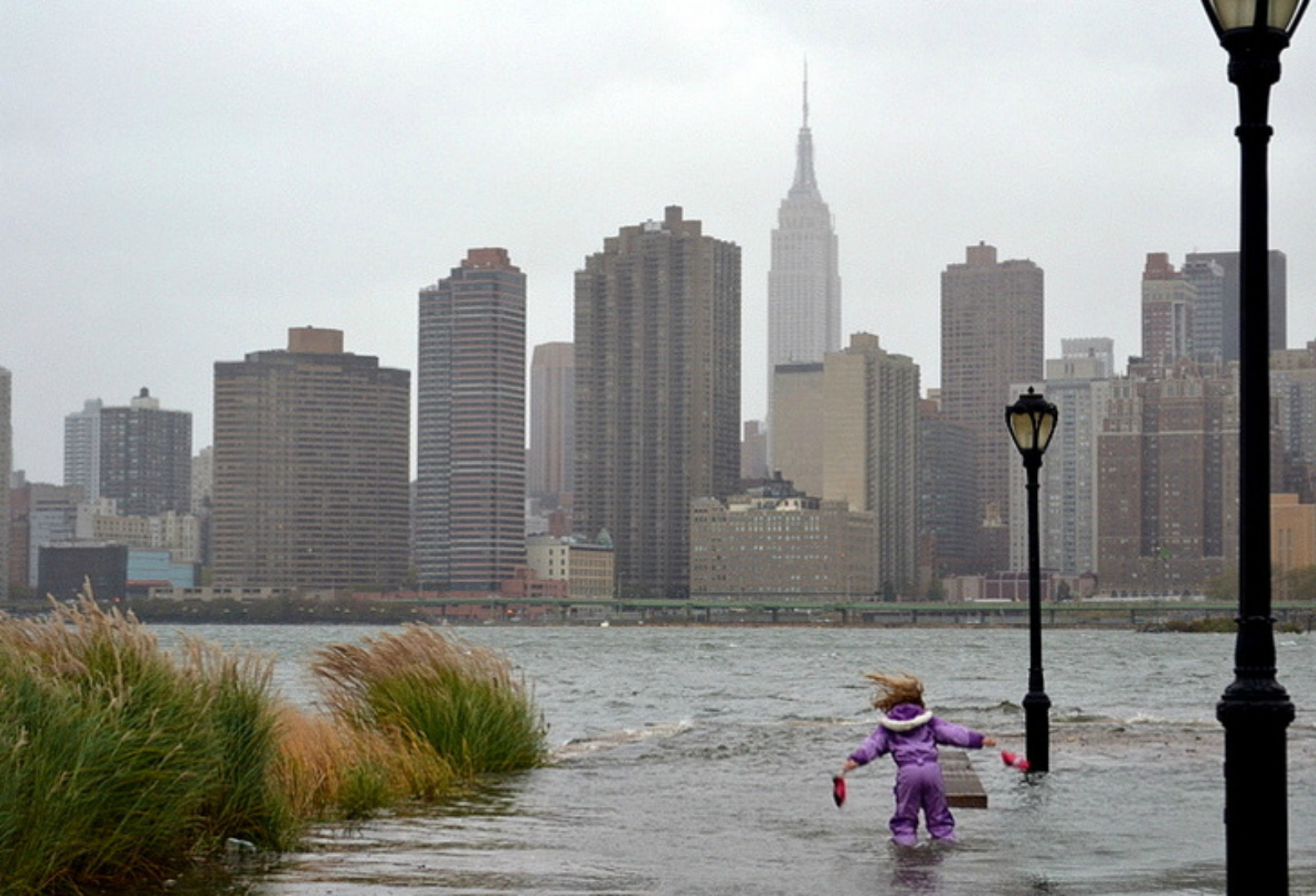 NYC could be under water in less than a century according to new climate change study