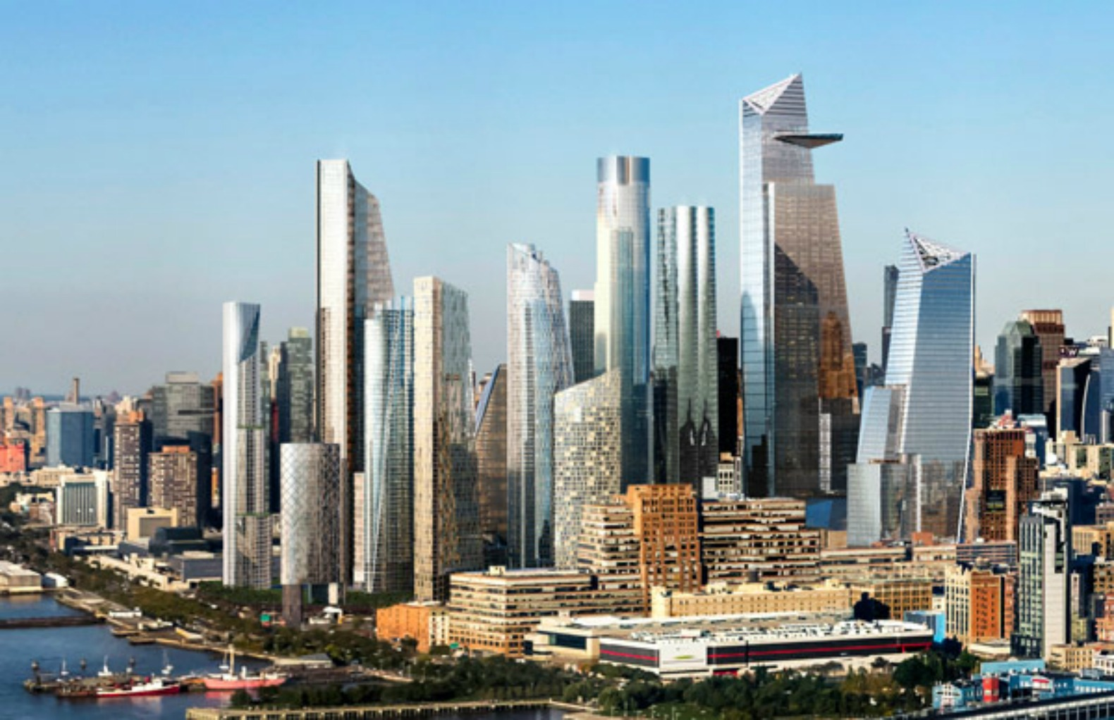 LEED Gold-seeking 10 Hudson Yards marks mega-development's first completed building