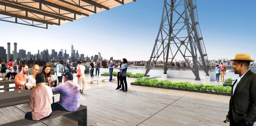Brooklyn Brewery announces plans for new rooftop beer garden at Brooklyn Navy Yard
